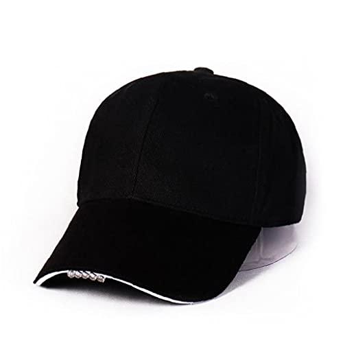Liadance Gorra de béisbol del Sombrero de algodón LED Linterna Manos Libres...