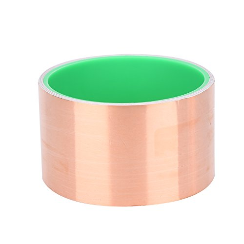 "3/"" x 22 yards Copper Foil Tape Conductive EMI Shielding 75mm; US Stock Fast Ship"