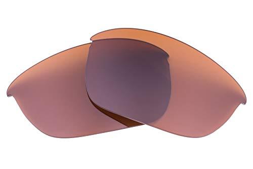 LenzFlip Oakley Half Jacket 2.0 交換レンズ ブラウン 偏光