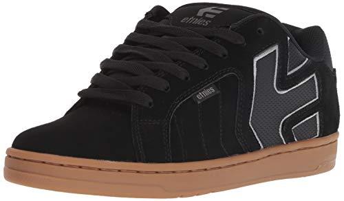 Etnies Men's Fader 2 Low Top Sneaker Shoes Black Grey Gum 11.5