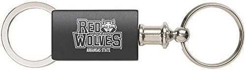 tienda hace compras y ventas Arkansas State University University University - Anodized Aluminum Valet Key Tag - negro by LXG, Inc.  punto de venta de la marca