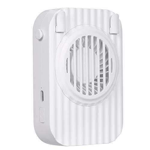 Decdeal Ventilador de Cuello Portátil Ultra Silencioso,Mini Ventilador Sin Hojas,Ventilador Recargable,para Oficina/Hogar/Exterior