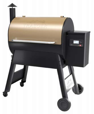 Traeger TFB78GZE Pro Series 780 Pellet Bronze Grill, Smoker