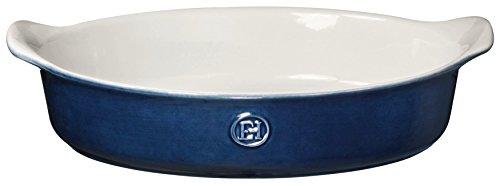 Emile Henry HR Ceramic Small oval baker, Twilight