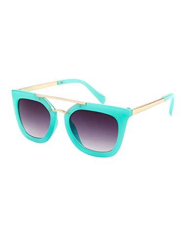 besbomig Gafas de Sol para Niños y Niñas Flexible Marco - Protección UV400 Gafas de Viaje Clásicas Sunglasses Edad 6-12