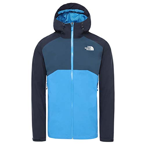 THE NORTH FACE Herren Jacke Stratos CMH9 Blue/URBAN Navy/Blue Teal M
