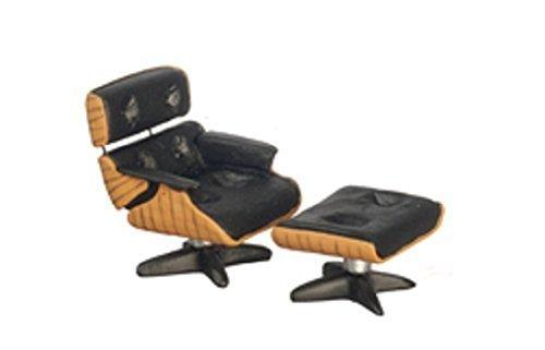 Melody Jane Puppenhaus Designer Lounge Sessel & Osmanisch 1:24 Halb Zoll Maßstab