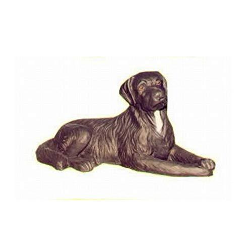 XL Premium Labrador in lebensgross 90cm Hund Garten Deko Figur inkl. Spedition