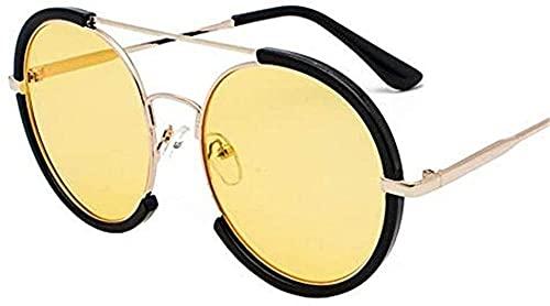 Gafas de sol grandes marco redondo se pueden equipar con gafas de sol anti UV de la miopía