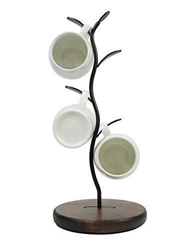 Mug Holder Stand Countertop Coffee Mug Tree Coffee Mugs Tea Cup Organizer Storage Rack for Bar Counter Kitchen