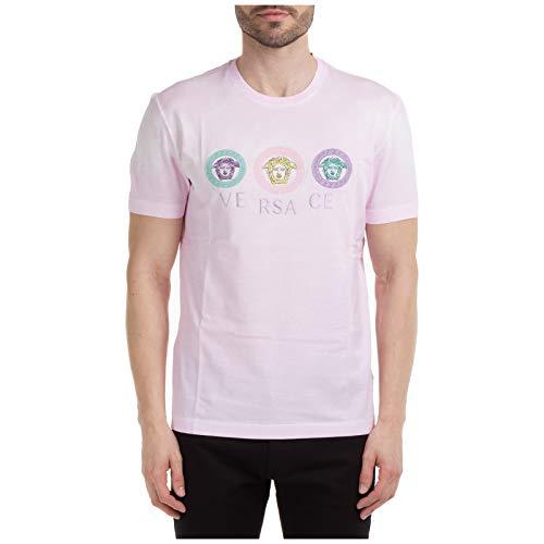 Versace Herren T-Shirt Medusa rosa S