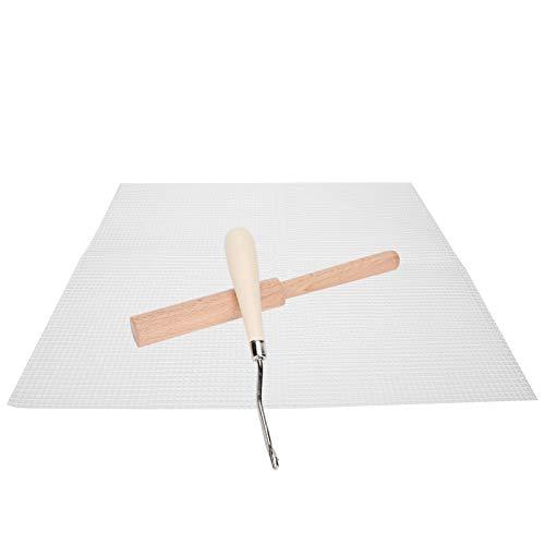 Tela de malla, con fibra de vidrio y madera de alta calidad de alta calidad.