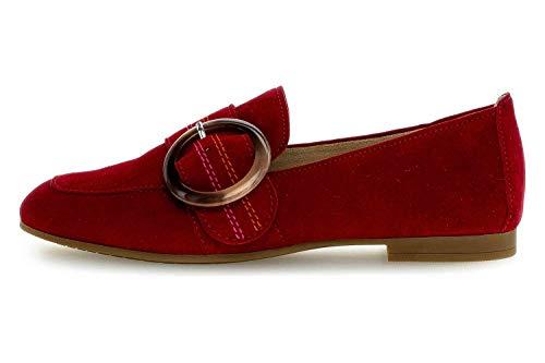Gabor Casual Slipper in Übergrößen Rot 44.212.15 große Damenschuhe, Größe:43