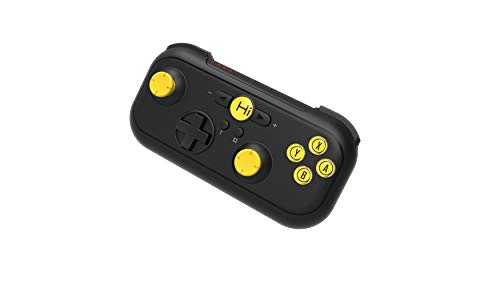 Hi-Shock Gamepad Bluetooth | Android Gamepad para Smartphone, VRChat, Tablet, N-Switch, PC, Joypad móvil, Incluye Funda [Recargable, Bluetooth | inalámbrico]