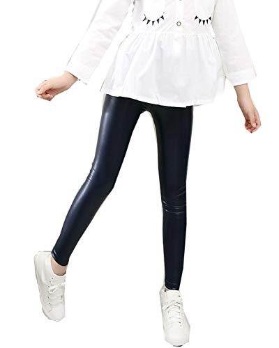 Leggings de Invierno Caliente Pantalones Ajustados Elásticos Sin Costura para Niñas