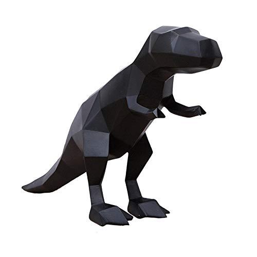 Estatuas Estatua Adornos Estatuas Esculturas Esculturas Estatuas Adornos Estatuilla Figuras Coleccionables Escultura De Arte De Dinosaurio Animales De Origami Estatuilla De Dinosaurio Resina Arte