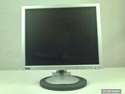 MIRO TD690 CP190S 19 Zoll LCD Monitor WXGA 1280x1024 VGA Audio Silber 4:3, 1A