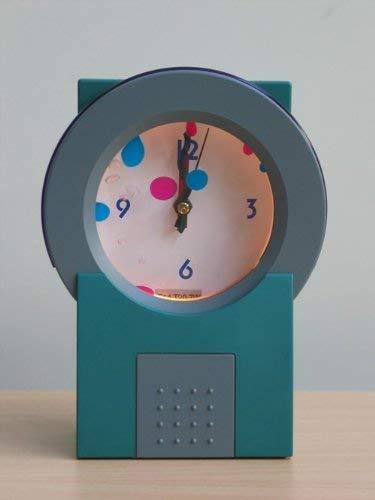 Dekortions-Uhr-Leuchte-Lampe mit in Flüssigkeit bewegende farbliche Öl LAVA-UHR grau/grün Tisch-Fensterbank-Fernseher-Stimmungs-Party-Leuchte-Lampe