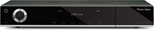 TechniSat DigiCorder ISIO S1 - HDTV TWIN-Satellitenreceiver (1000GB Festplatte, Internet, DVR, CI+, UPnP, Ethernet) schwarz