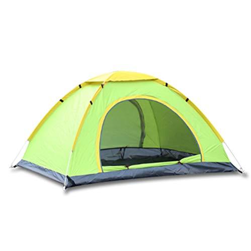 Oofay TAPS Campingzelt im Freien, automatisch, Doppelzelt 3 – 4 Personen, Camping-Zelte, Open Handgeschwindigkeit – Blau – 200 x 150 x 100 cm, Grün, M