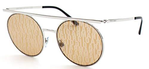 Giorgio Armani 0AR6069 Gafas de sol, Silver, 56 para Mujer
