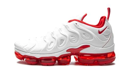 Nike Mens Air Vapormax Plus DH0279 100 - Size 10.5 White/University Red