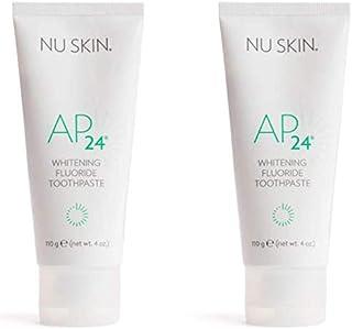 Nu Skin lqbGyz Ap 24 سفید کننده خمیردندان فلوراید ، 4 اونس ، 2 بسته