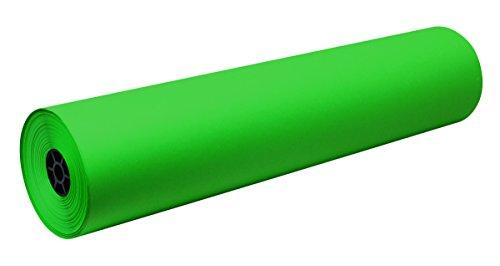 Decorol Art Paper Construction Paper Rolls - 36 inch x 500 feet - Festive Green