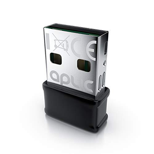 CSL - Mini 1300 Mbits WLAN Adapter - USB 3.2 Gen1 - AC Dual Band Stick - Nano Adapter Stick - Wireless LAN - WiFi Dongle - Mini Dual Band - MU MIMO Technik - - Windows 7 - 10 - Plug&Play