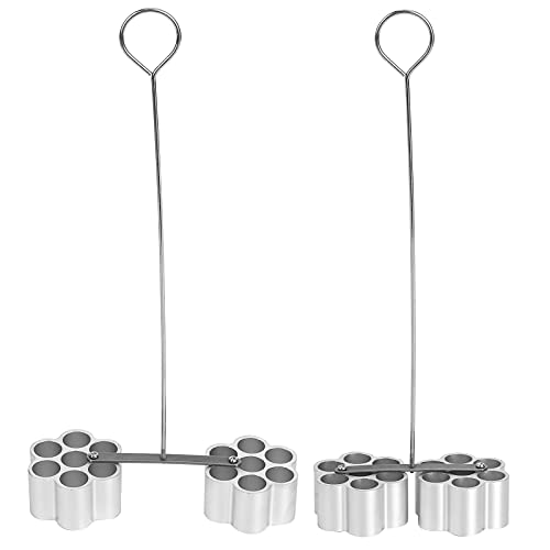 Molde Para Pasteles, Aleación De Aluminio, Atractivo, útil, útil Para Hornear Con 7 Orificios, Herramienta Para Hornear Para El Hogar, Para Panadería