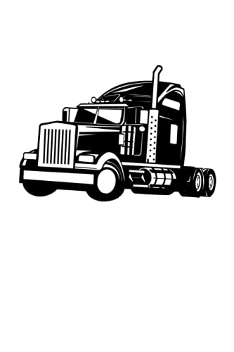"""Truck: Truck Driver Truck Notebook I Trucker Notepad (A5 6"""" X 9"""" lined 120 pages)"""