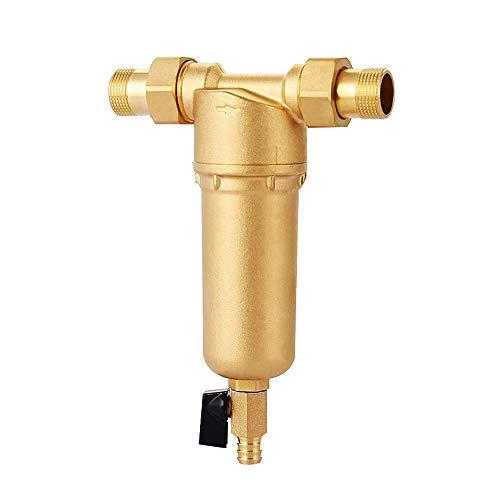 Aegilmc Wasser-Pre-Filter-System/Wiederverwendbares Spin Down Sediment 40 Micron Fit für 1