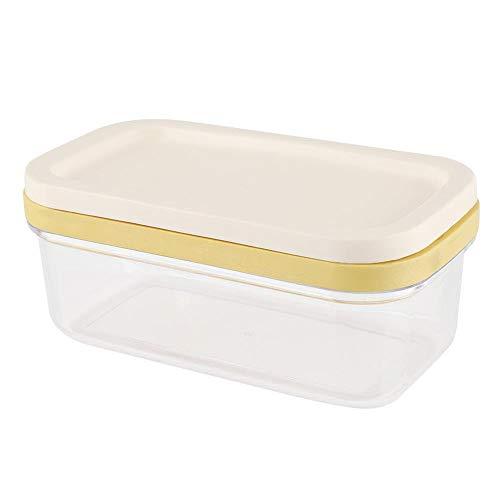 yuanbogg Boîte De Beurre Gardien De Récipient À Fromage avec Râpe Coupant Le Filet Boîte De Rangement des Aliments Plateau De Rangement pour La Cuisine