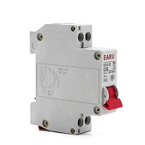 DPN 1P + N MINI Circuit Interruptor MCB 6A 10A 16A 20A 25A 32A Corte de montaje en riel DIN MINIOTURIDAD MINIATURA AIR AIR-1p + n_6A