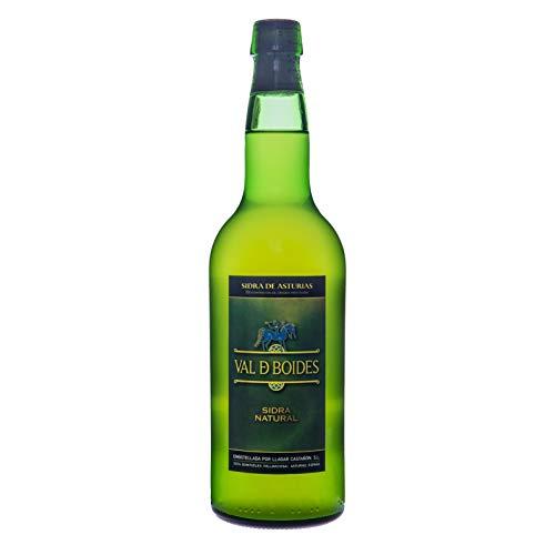 Val de Boides Sidra Natural DOP Asturias 6 botellas de 70 cl Castañón