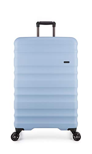 Antler Clifton, Durable & Expandable Lightweight Hard Shell Suitcase - Colour: Blue, Size: Large