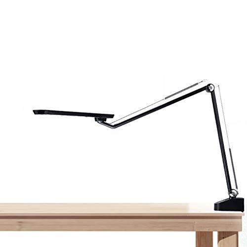 lámpara de mesita de noche Escritorio LED de luz de lámpara de lectura ajustable de balancines Con encendido / apagado de brazo giratorio de noche Eye-El cuidado de la lámpara de lectura lámpara, resi