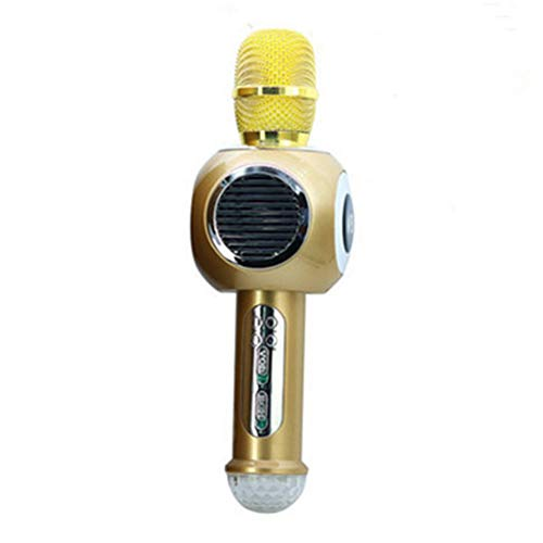 YYZLG mode, Met Led Lights, Draadloze Karaoke Microfoon, Draagbare Thuis Handheld Telefoon Karaoke Microfoon, muziek, geluid