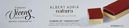 Vicens Turrón Cheesecake Adrià Natura - 300 gr