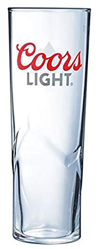 Coors Light Nucleated - Vasos de Media Pinta