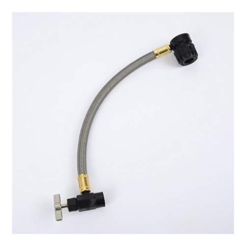 TangMengYun Conector rapido Aire Acondicionado Refrigeración R134 Acoplador rápido Automotive medición de Recarga Adaptador Ventilación Herramientas Universal