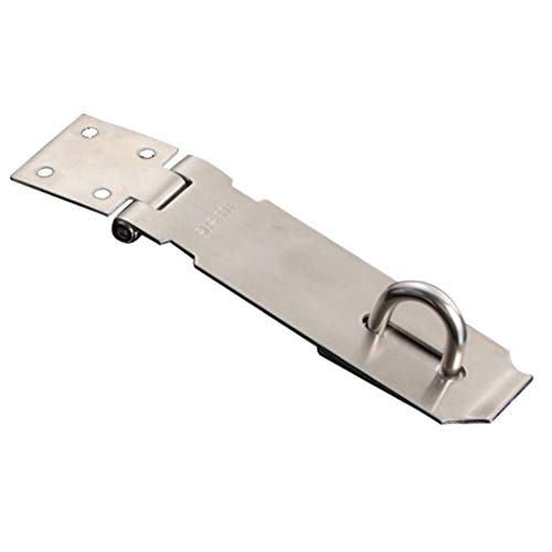 KEISL Tür-Schnappschloss, Verschluss für Tür, aus Edelstahl 304, Silber, C:12.8 * 2.5cm