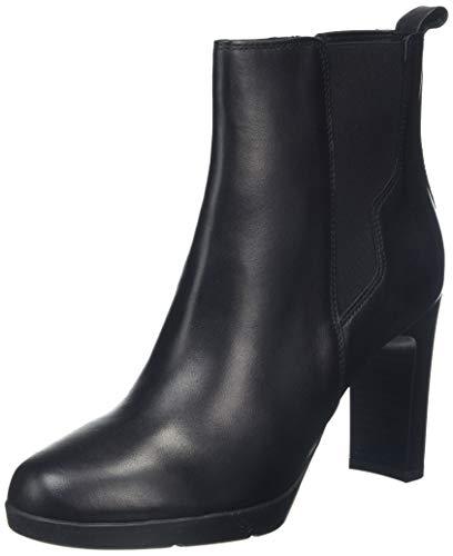 Geox Damen D ANNYA HIGH A Stiefeletten, Schwarz (Black C9999), 37 EU