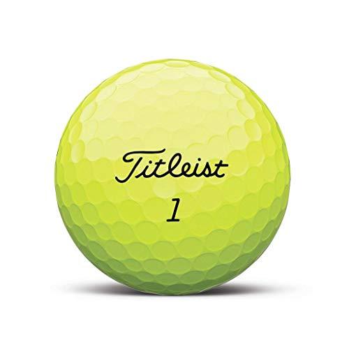 AVX Gelb Golfball - Individuell Bedruckt mit Ihrem Text Bild oder Logo (24 STK)
