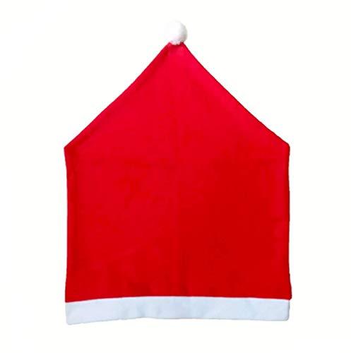 WARMWORD Cubierta De La Silla De Navidad, Creativo Lindo Muñeco De Nieve Cubierta De La Silla Fiesta En Casa Cena Cocina Mesa De Comedor Asiento Trasero Decoración del Partido Regalo