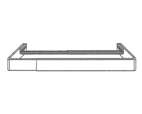 """Barra de cortina de Kirsch Continental II Combo, 48""""-86"""" de ancho"""