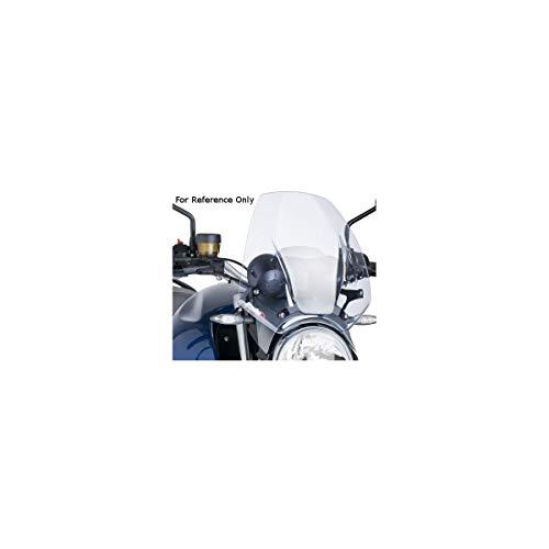 Puig 7011W Windschutzscheibe Cockpitverkleidung für Kawasaki Z1000 2014, Transparent, Medium