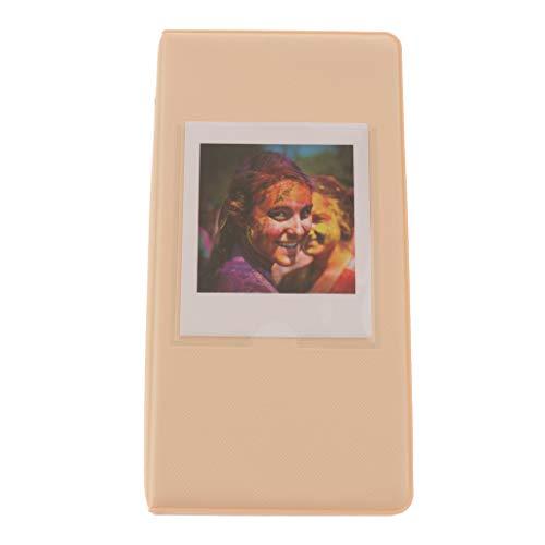 IPOTCH Álbum de Fotos de PVC de 64 Fotos para SQ10 - Caqui