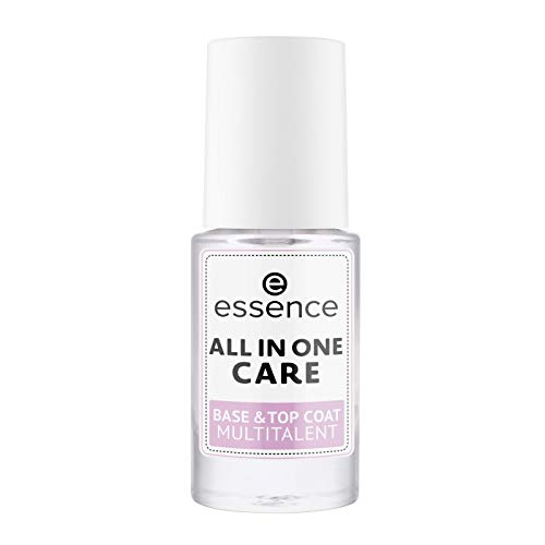 essence cosmetics All in One Care Base & Top Coat Multitalent Nagellack, 8 ml