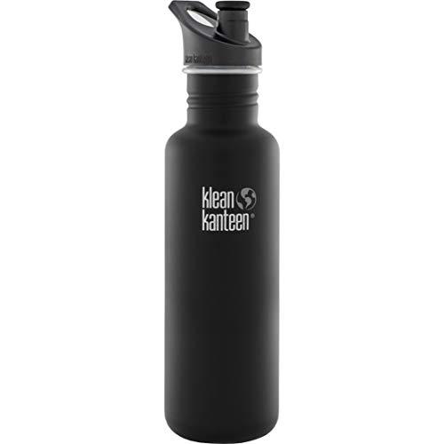 Klean Kanteen Pack de bouteilles, acier inoxydable, Multicolore Shale Black, 4.4 cm, 1 unité
